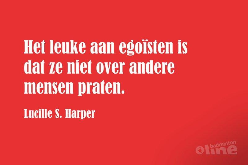 Topsporters zijn vaak onaardige egoïsten - badmintonline.nl