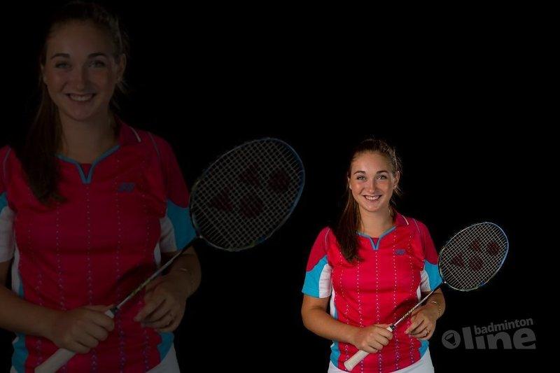 Imke van der Aar is Talentboek Talent van de Week! - René Lagerwaard / badmintonline.nl