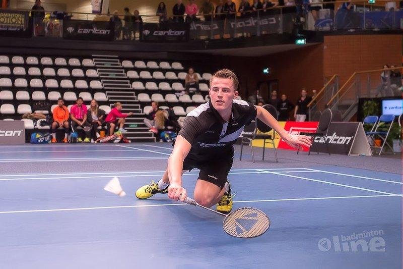 Nederlanders uitgespeeld in Wenen bij Austrian Open 2016 - Sebastièn Petri