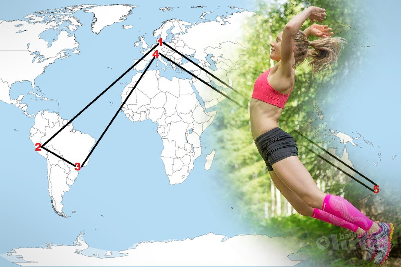 Finland's Airi Mikkela on world trip to Peru, Brazil, Switzerland and New Zealand