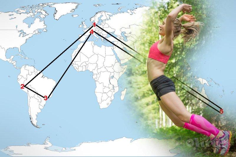 Finland's Airi Mikkela on world trip to Peru, Brazil, Switzerland and New Zealand - Airi Mikkela