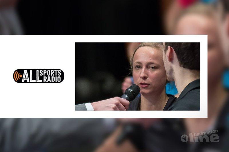 Selena Piek telefonisch in de ALLsportsradio uitzending van 29 februari 2016 - Edwin Sundermeijer / badmintonline.nl