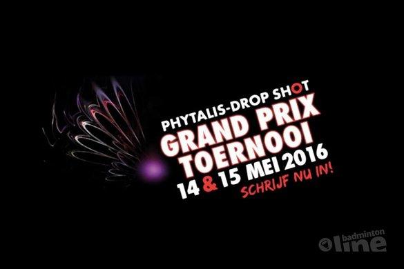 Grand Prix toernooi op 14 en 15 mei 2016 in Den Haag - BC Drop Shot