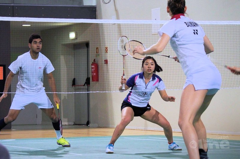 Dutchie Alida Chen cherishes Portuguese three-gamer against Ireland's star player Chloe Magee - Aede Fontein