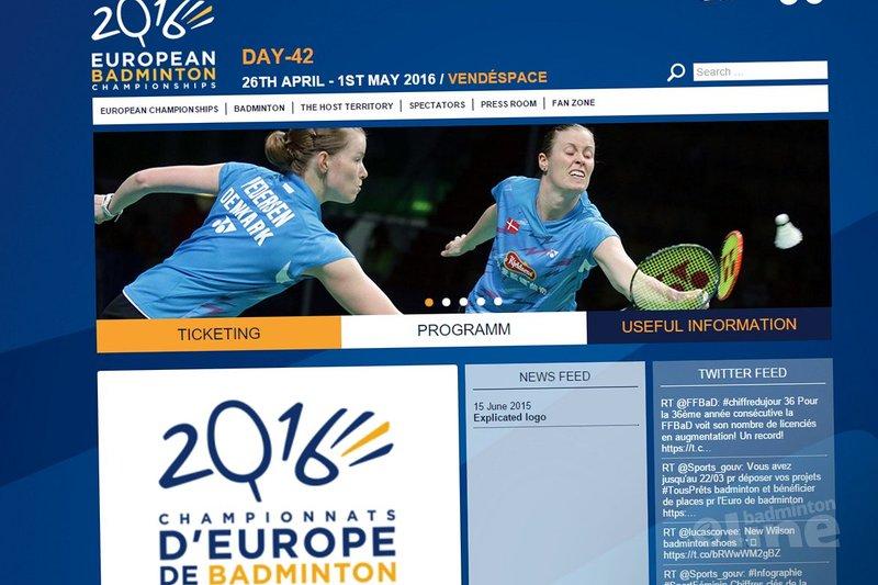 Mathias Boe set to rock the show during European Championships 2016 in France - Badminton Europe