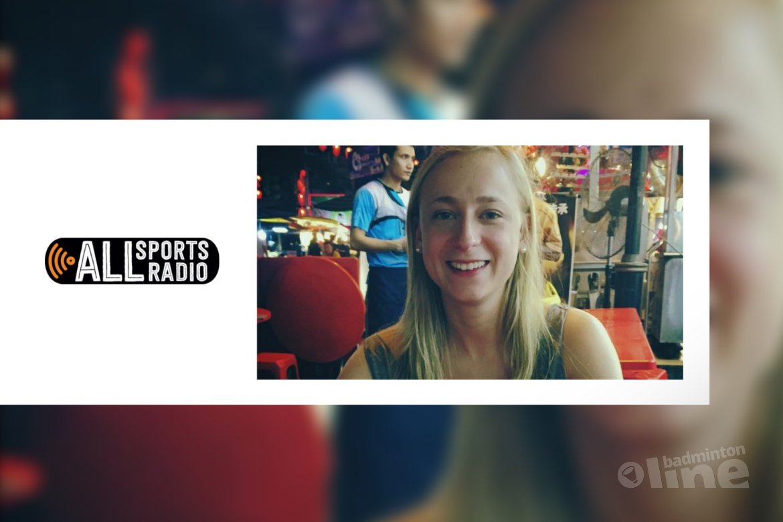 Selena Piek telefonisch in de ALLsportsradio uitzending van 14 maart 2016