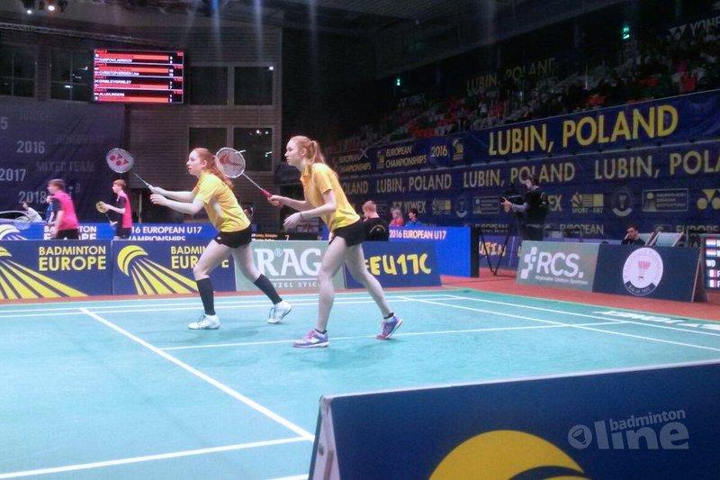 Vierde dag individueel EJK U17: Nederlandse koppels uitgeschakeld - Badminton Nederland