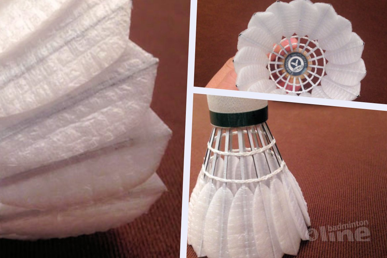 Synthetische vervanger voor dieronvriendelijke veren badmintonshuttle eindelijk beschikbaar?
