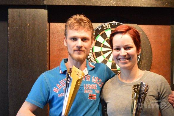 Stephanie van den Hurk ein-de-lijk clubkampioene Alouette - BC Alouette