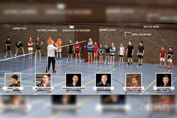 Deze afbeelding hoort bij 'Voorspeeldag op Papendal ook spannend voor TFS Barendrecht spelertjes' en is gemaakt door TFS Barendrecht