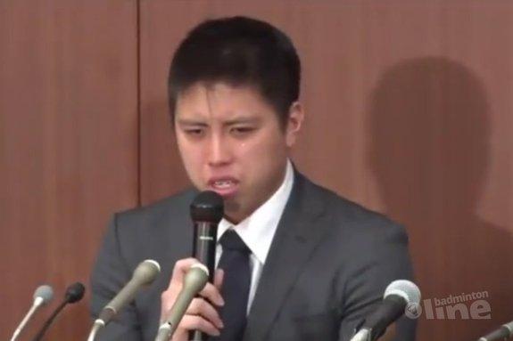 Illegaal casinobezoek nekt Japanse badmintonheld Kento Momota - YouTube