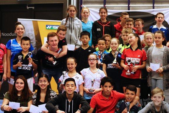 Succesvol jeugdtoernooi bij BCRS: hattrick voor Carlo van den Berge in U17-categorie - BCRS