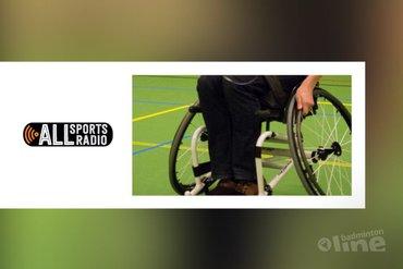 Edwin Schriemer verhaalt over het NK Aangepast Badminton in Veenendaal