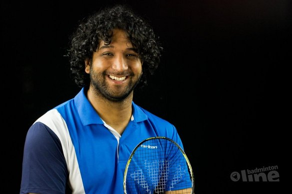 Jordy Brouwer bereidt zich voor op de Spanish Open 2017 - Edwin Sundermeijer