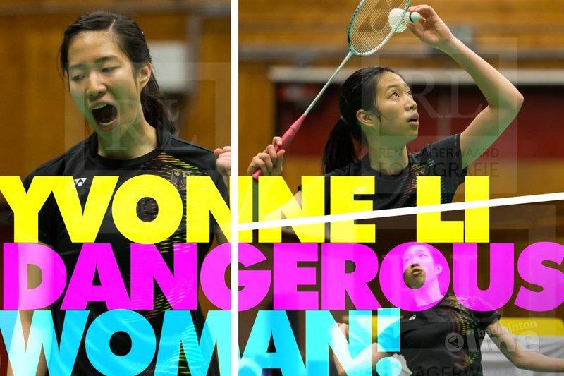 Something about Yvonne Li: a dangerous woman in Wateringen - René Lagerwaard / badmintonline.nl