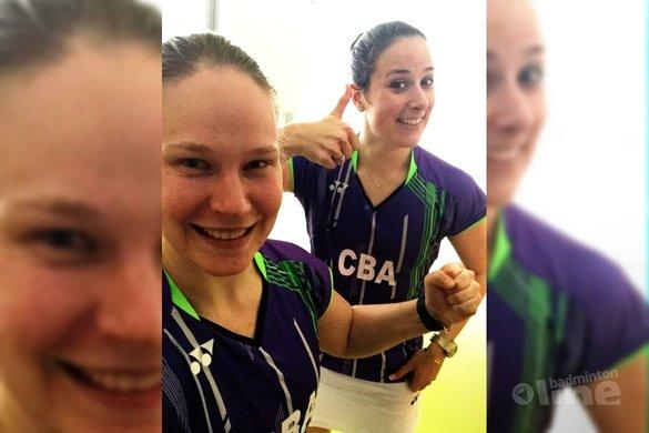 Samantha Barning en Iris Tabeling naar laatste vier bij EK - Iris Tabeling