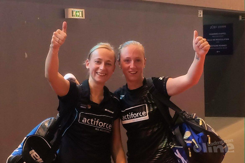 EK finale voor Eefje Muskens en dubbelpartner Selena Piek
