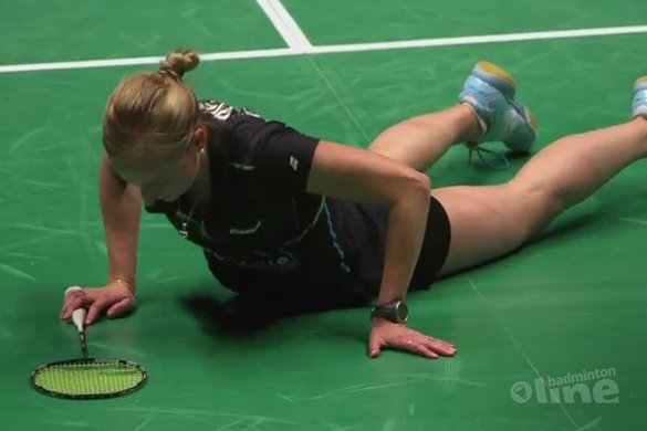 Piek en Muskens lopen Europese titel mis - Badminton Europe