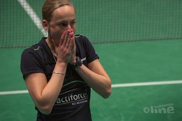 Short but sweet opening day in Almere - talking point Piek - Badminton Europe
