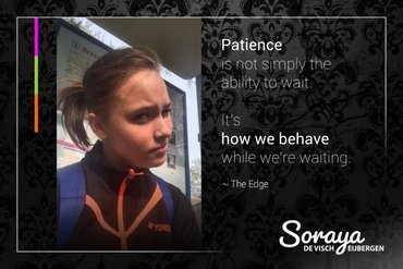 National champion Soraya de Visch Eijbergen: I'm moving forward