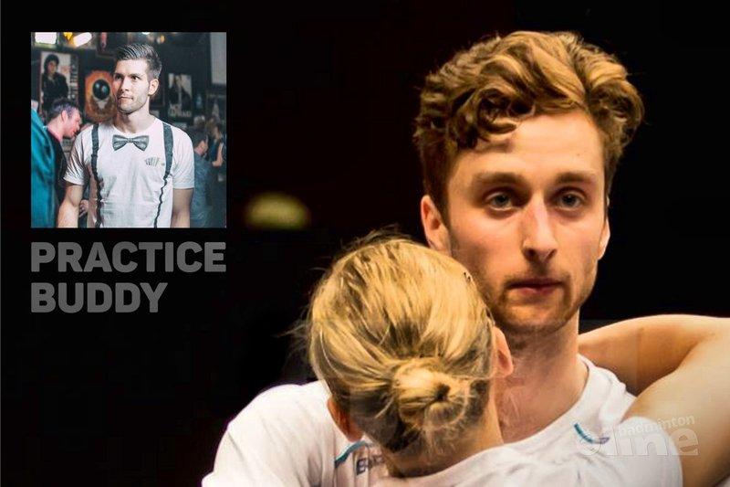 Jacco Arends: So happy! - René Lagerwaard / badmintonline.nl