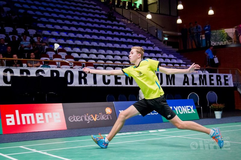 Dennis Koppen en Sabine de Wit speelden 3 Borders International Junior - Alex van Zaanen