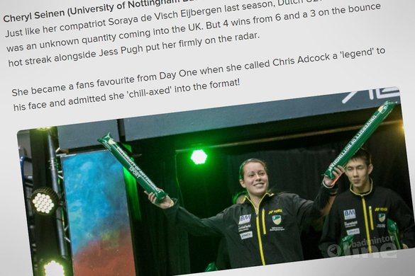 Stars bring a Euro vision to the NBL - Cheryl Seinen one of the stars! - NBL