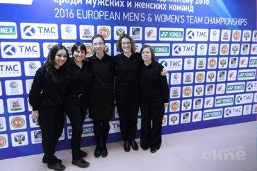 Geertje Tonnaer geslaagd voor examen Badminton Europe Accredited Umpire