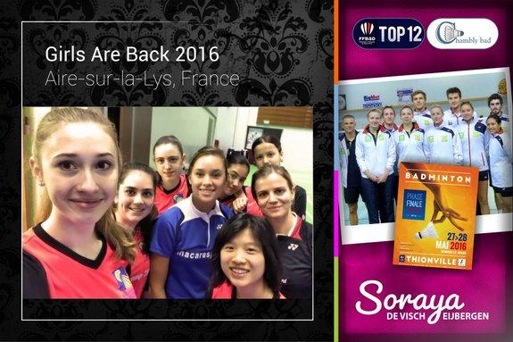 Soraya de Visch Eijbergen blikt terug op Girls Are Back kamp in Frankrijk - Soraya de Visch Eijbergen
