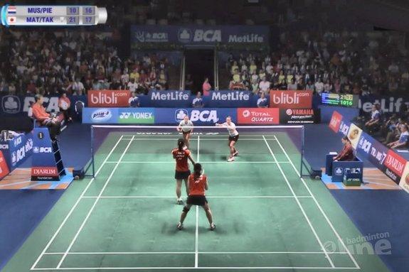 Deze afbeelding hoort bij 'Dubbelpaar Eefje Muskens en Selena Piek loopt finale Indonesia Open mis' en is gemaakt door BWF