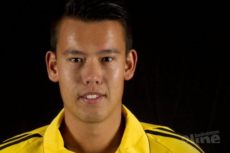 Stephan Branderhorst wordt verhuurd door BV Almere - Badminton Nederland