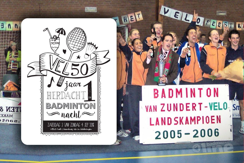 Jubileum voor VELO Badminton