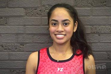 Gayle Mahulette redt het niet op EK badminton