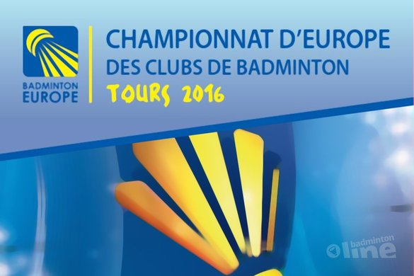 VELO in Europa Cup voor landskampioenen - Badminton Europe