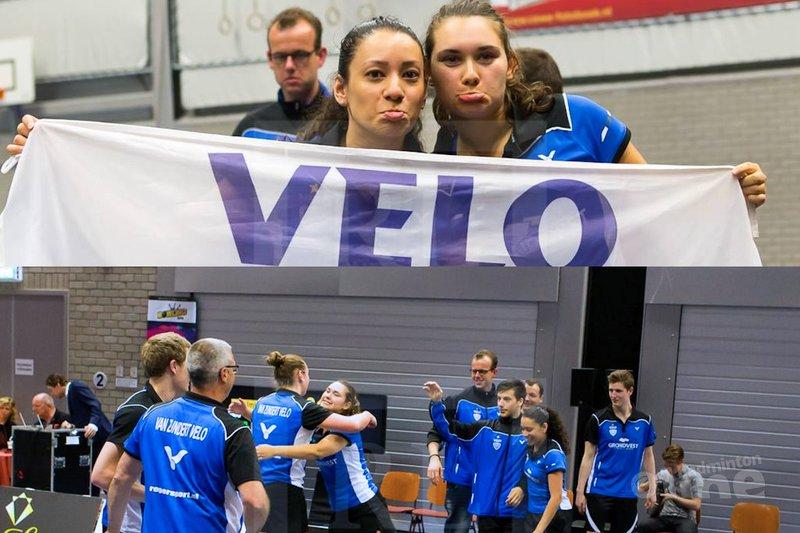 VELO wint na landstitel ook de beker - René Lagerwaard / badmintonline.nl