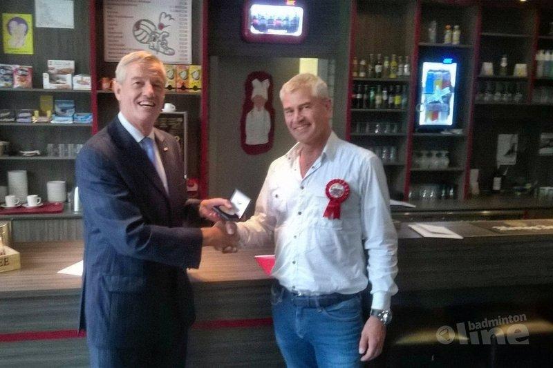Erepenning voor BC Epe  - Badminton Nederland