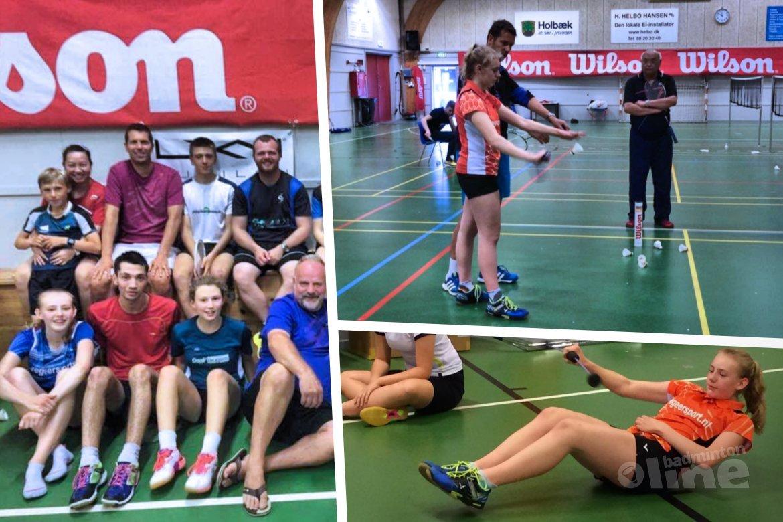 Demi Brehler trainde een week op OroDenmark