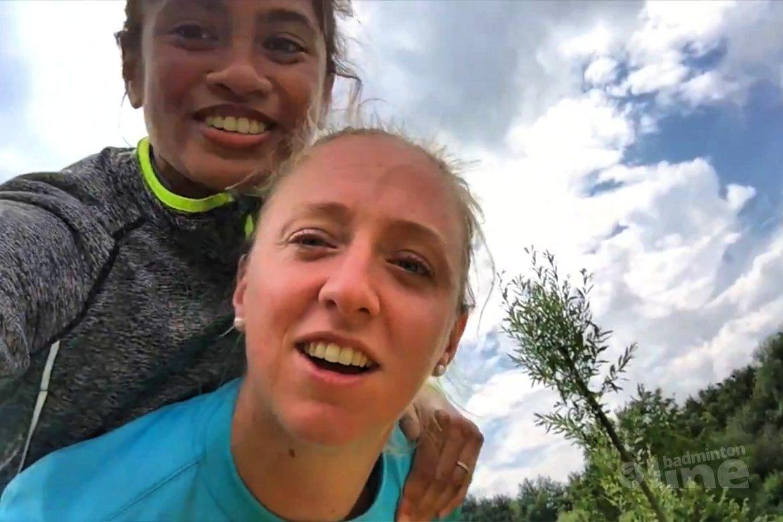 Teambuildingdag nationale selectie in vlog Gayle Mahulette