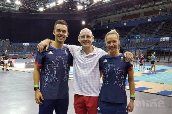 GB badminton stars in Birmingham training camp - Badminton England