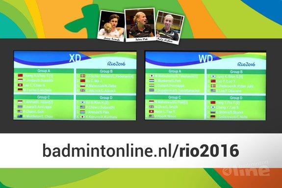 Loting Olympisch badmintontoernooi voor Jacco Arends, Selena Piek en Eefje Muskens bekend - René Lagerwaard / badmintonline.nl
