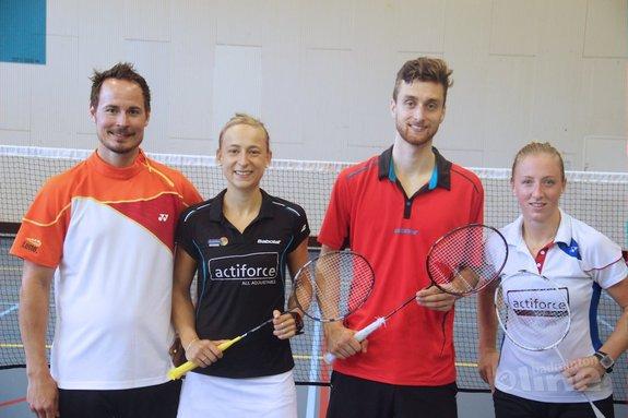 Badmintonners Arends, Piek en Muskens klaar voor Olympische Spelen in Rio - Selena Piek