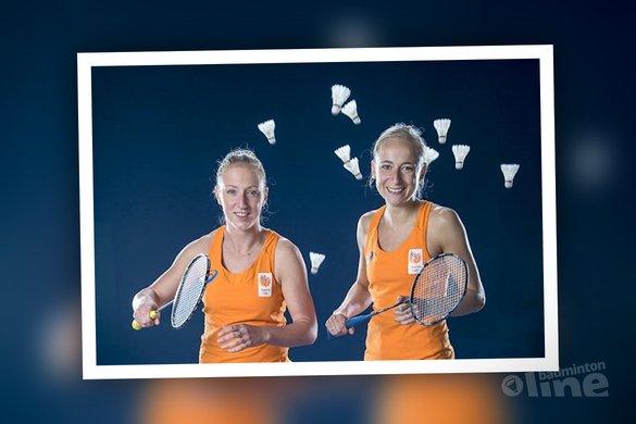 Nederlanders in actie bij WK Badminton in Glasgow - Eefje Muskens en Selena Piek