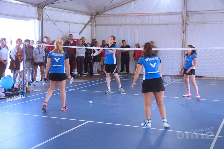 10 augustus: Dag van het Badminton bij Olympic Experience