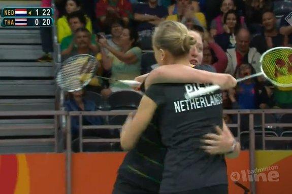 Deze afbeelding hoort bij 'Eefje Muskens debuteert met winst op Olympische Spelen' en is gemaakt door NOS