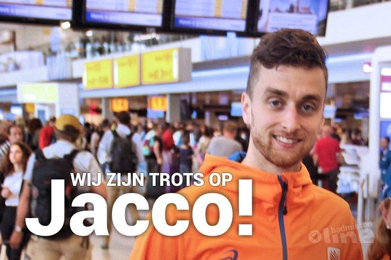 Wij zijn trots op Jacco! - Badminton Nederland