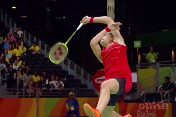 Spaanse Marin zorgt voor eerste niet-Aziatische badmintongoud bij vrouwen - Sporza