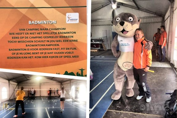Iris Tabeling: back to work! - Badminton Nederland