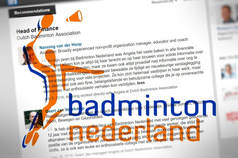 Bondsbureau Badminton Nederland afgeslankt