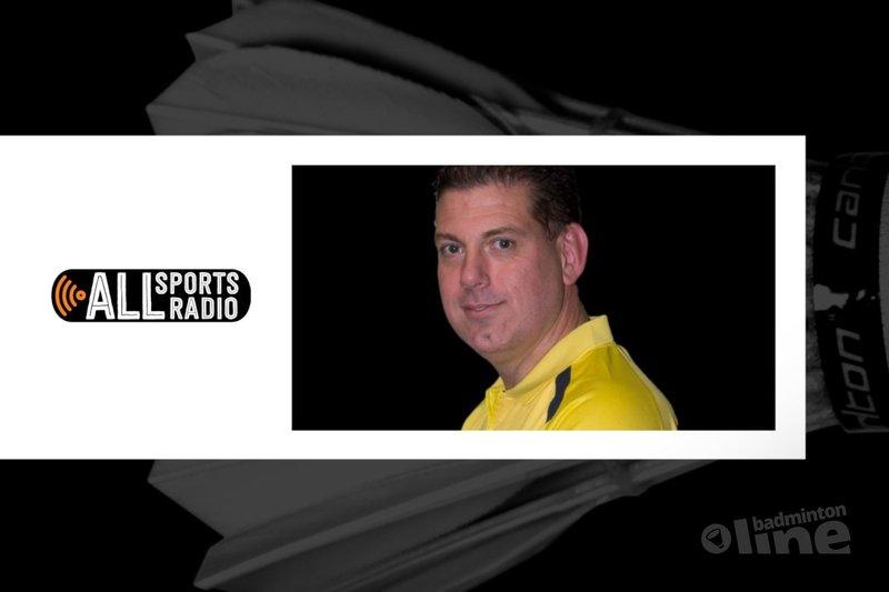 Badminton Nederland bestuurslid Paul Kleijn op ALLsportsradio - badmintonline.nl