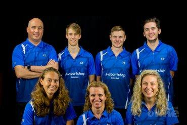 Roosterse kruist rackets met VELO in eerste speelronde Carlton Eredivisie